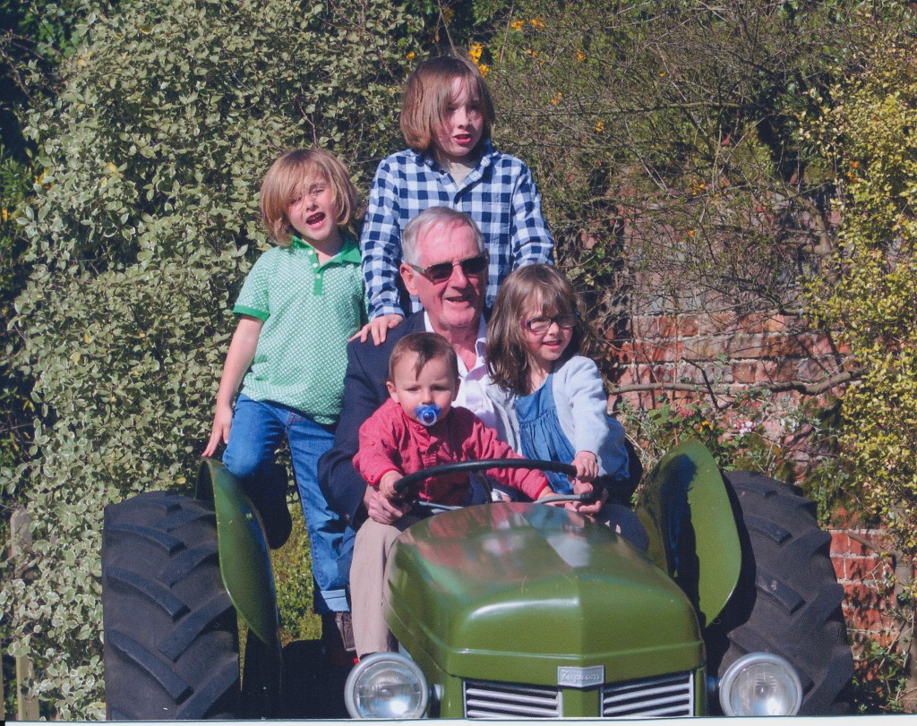 Kids on Tractor 2015