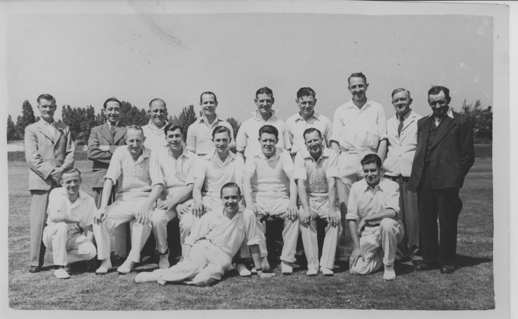 Tannery Cricket Team Circa 1950